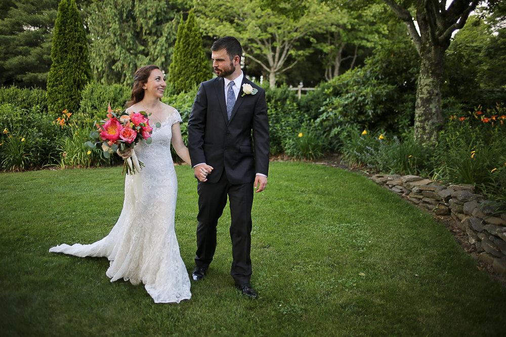 Vibrant Pink Peony Bouquet, Chateau Morrisette Wedding | Virginia Wedding Photographer Holly Cromer
