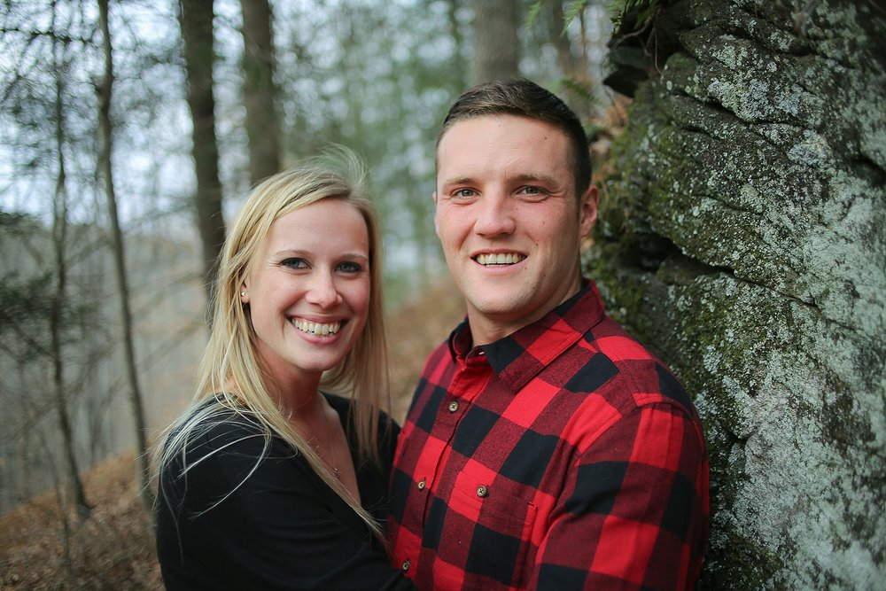 Ellen + Peter's Hillsville Engagement Photos | Virginia Wedding Photographer, Holly Cromer