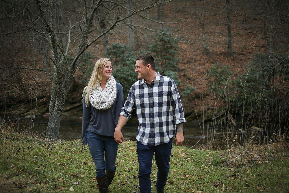 Ellen + Peter's Hillsville Engagement Photos | Virginia Wedding Photographer, Holly Cromer