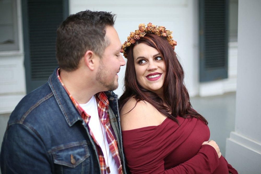 Jay + Jenna's Maternity Portraits | Blacksburg, Virginia Maternity Photographer, Holly Cromer