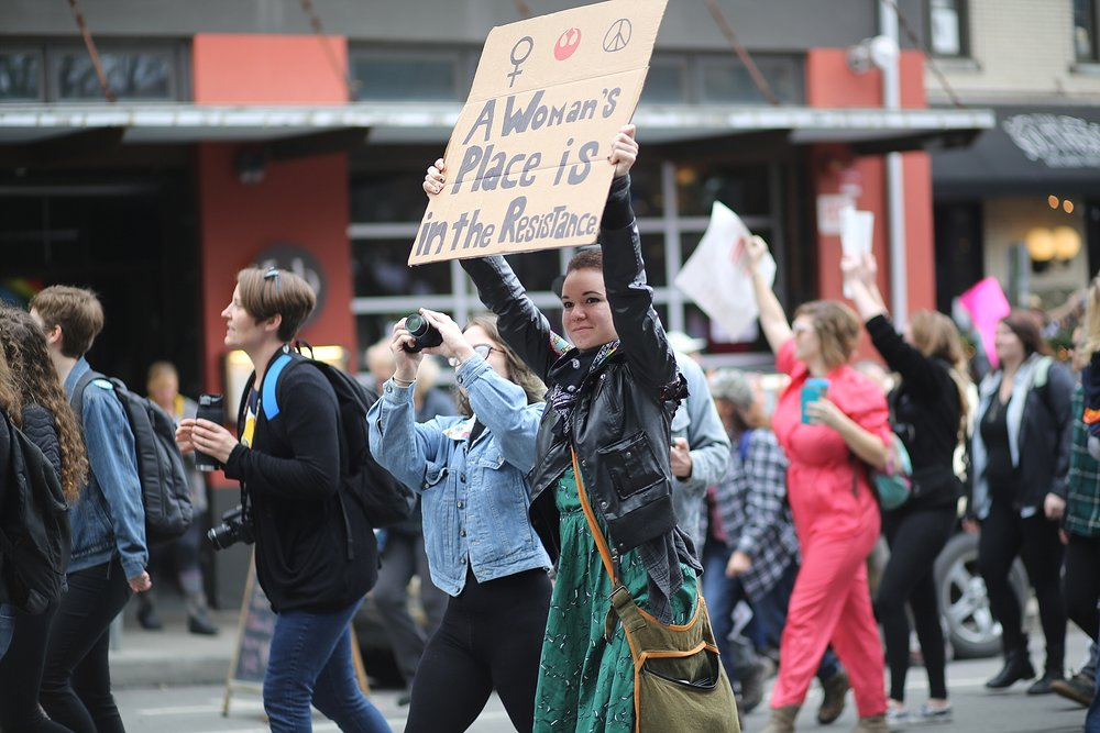 Women's March 2017 in Asheville, North Carolina