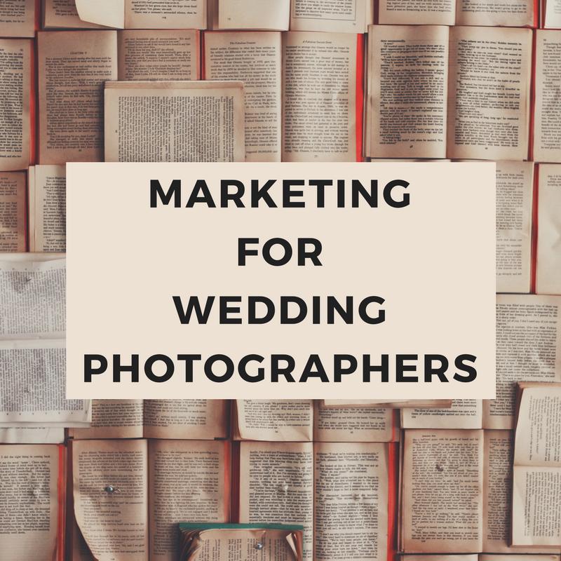 Marketing Advice for Wedding Photographers
