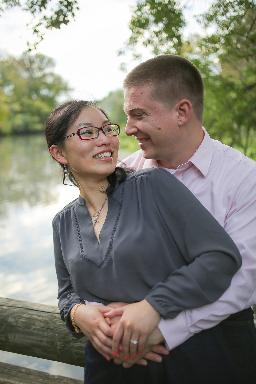 Hai + Eric's Virginia Tech Engagement Photos | Blacksburg Engagement Portrait Photographer