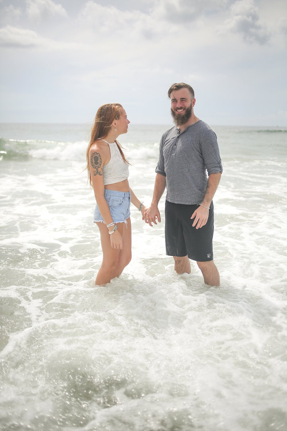 Wilmington + Wrightsville Beach, North Carolina Coastal Couples Photography
