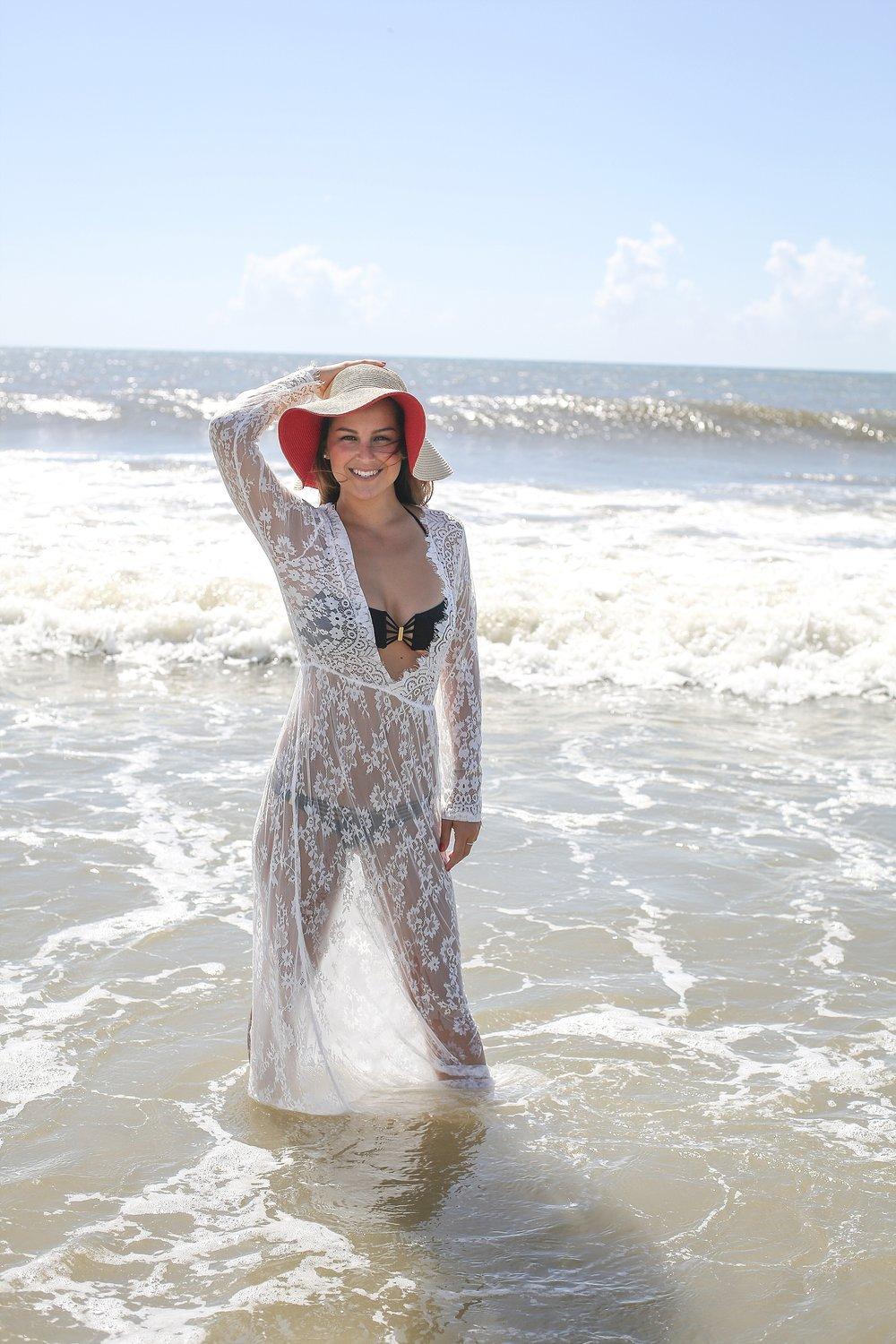 Wrightsville Beach Mermaids | Celestial Surf Studio + Spikey Peach Designs, Photos by Holly Cromer