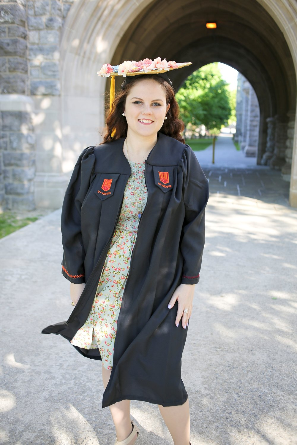 Rebecca | Virginia Tech Graduation Portrait Photographer, Holly Cromer