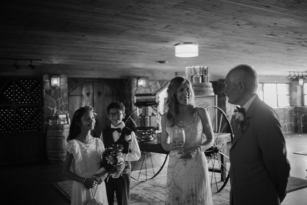 Bill + Emma's Intimate Winery Wedding at Chateau Morrisette | Floyd, Virginia Wedding Photographers