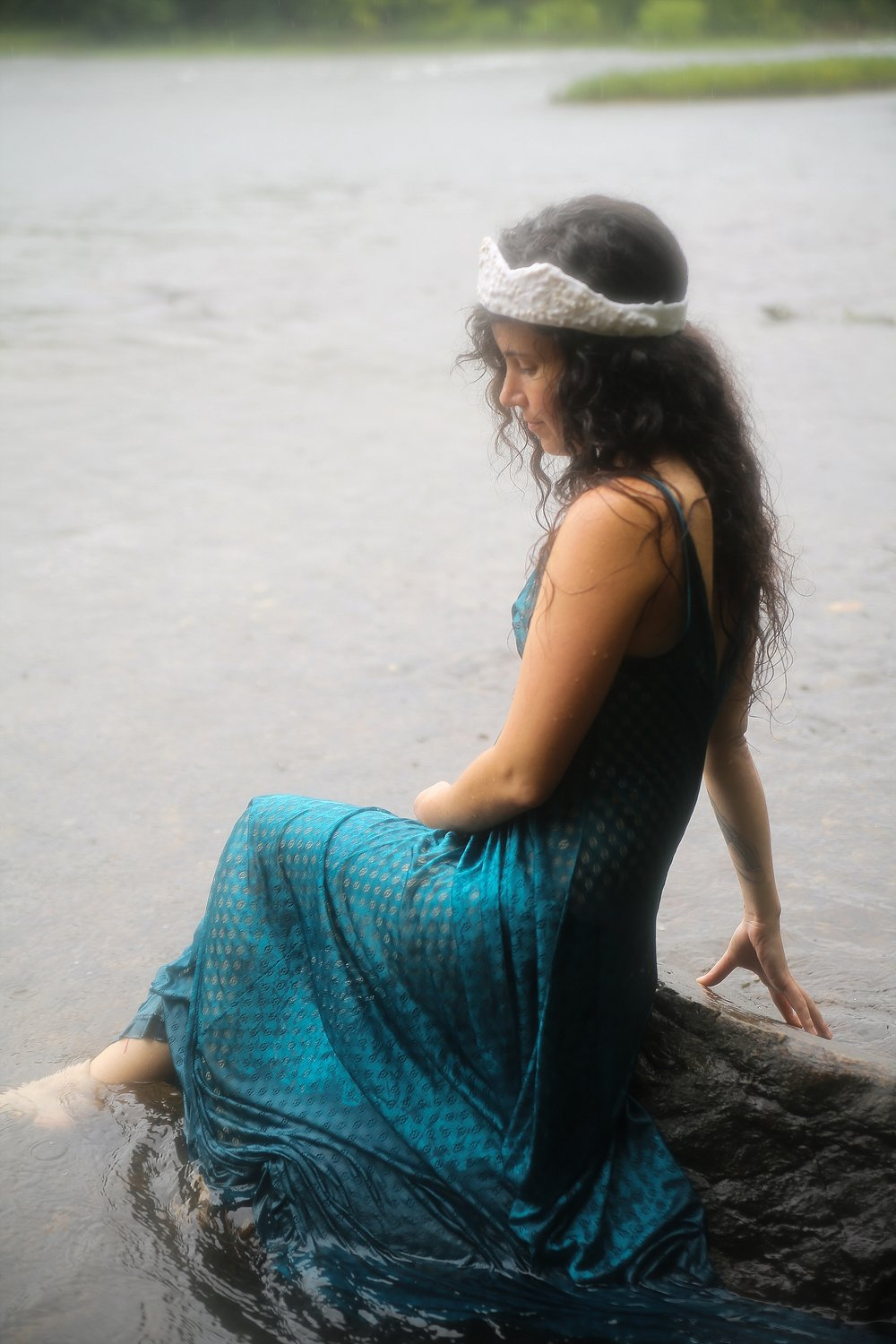 Brittany, Queen of the River Faeries | Radford, Virginia Creative Portrait Photographer, Holly Cromer