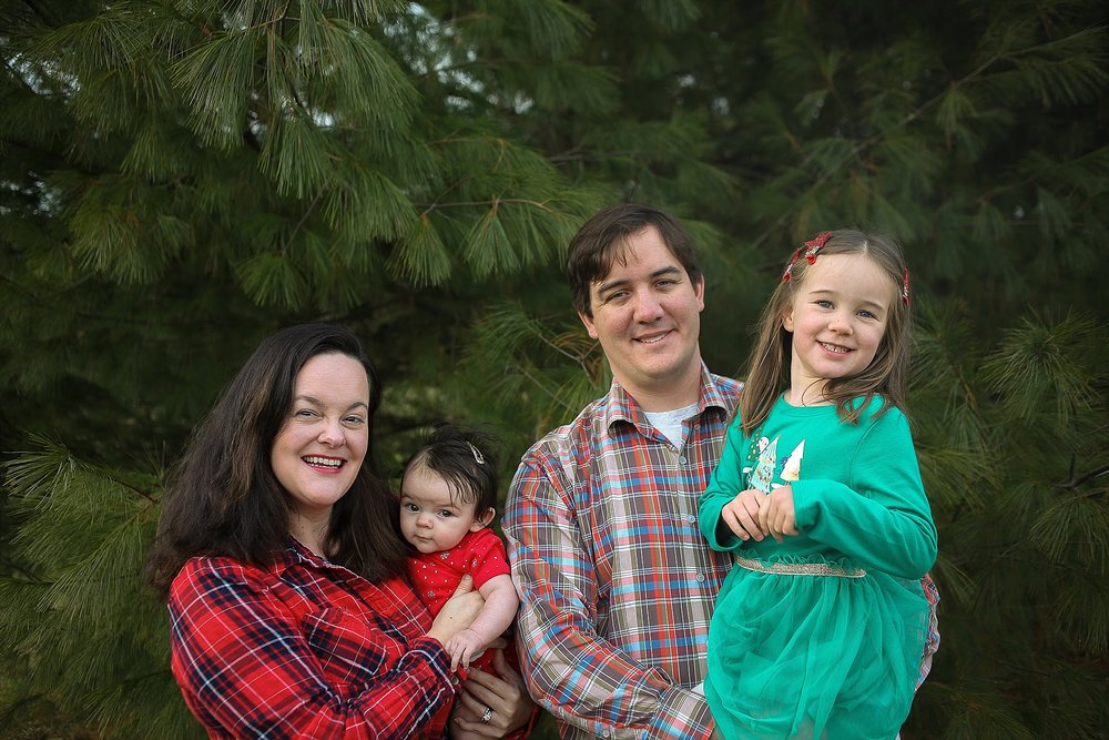 Blacksburg Family Portrait Photographer