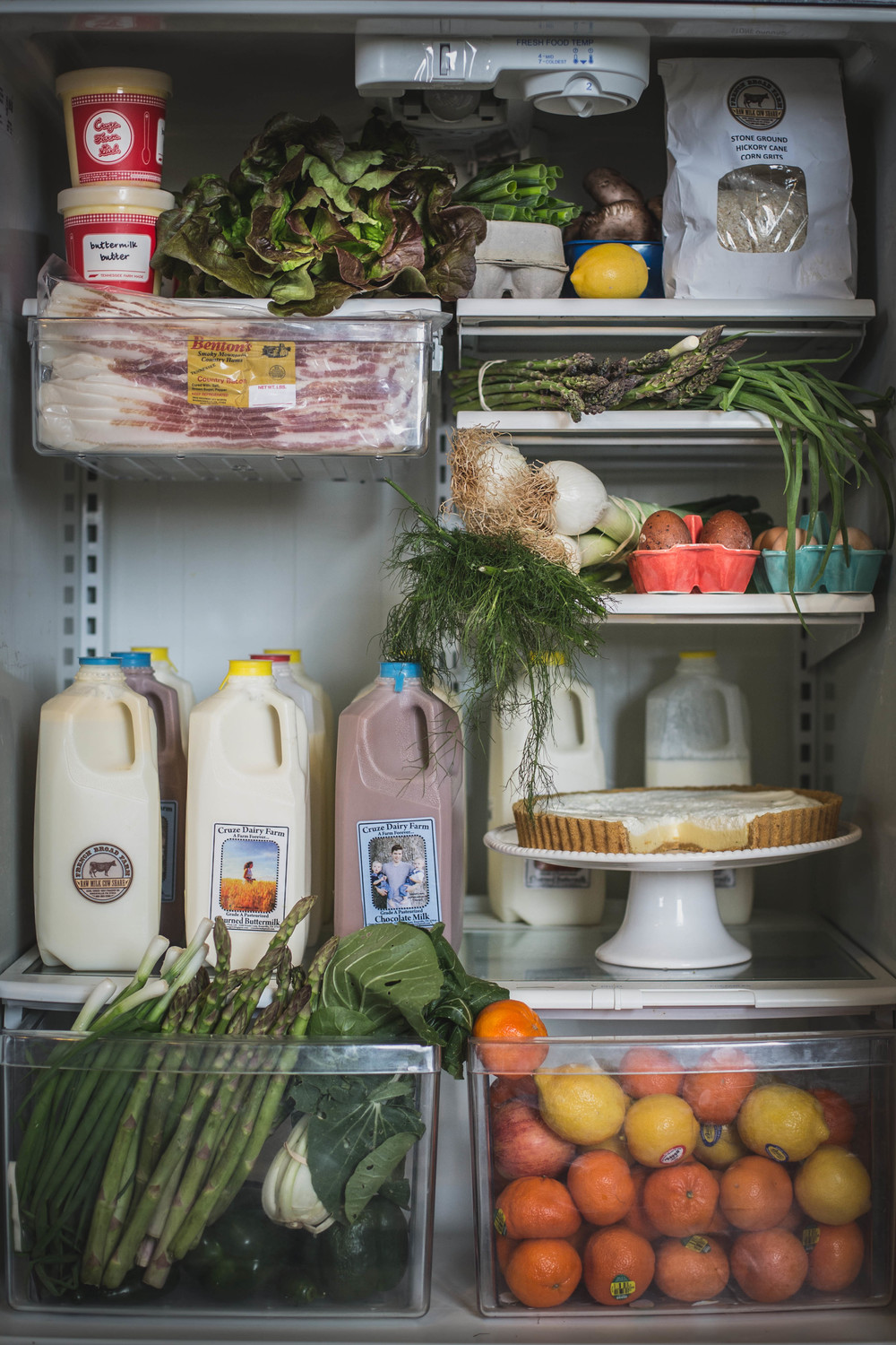 Thanks for stocking your fridge with our dairy products! photo credit: http://localmilkblog.com