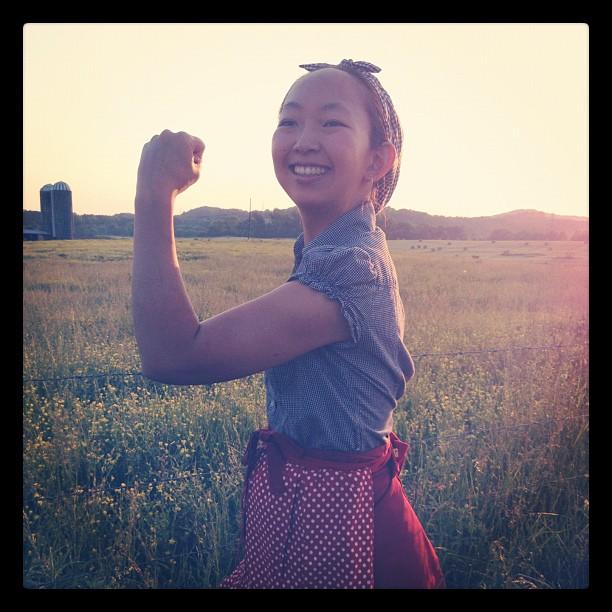 Farm girl Ayaka
