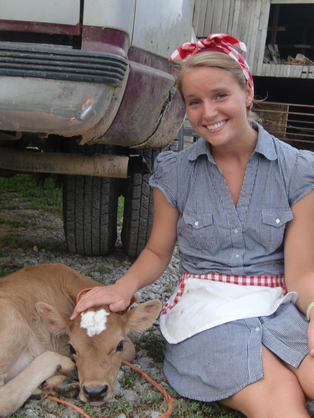 Farm Girl Amber