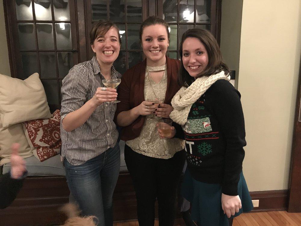 Heidi, Lindsay, and Erica
