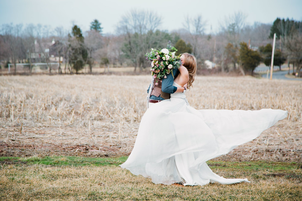 Andrea Tracy Photography PA Bohemian Wedding