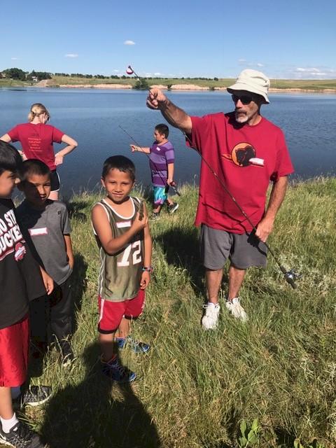 Fishing at Rosebud June 2018