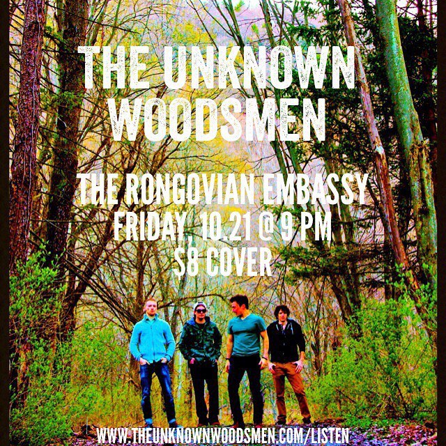 Ithaca! We're playing the Rongo for the first time this Friday and want to see you there. Let's party! #ithacamusic #therongovianembassy #cnymusic #ithacany