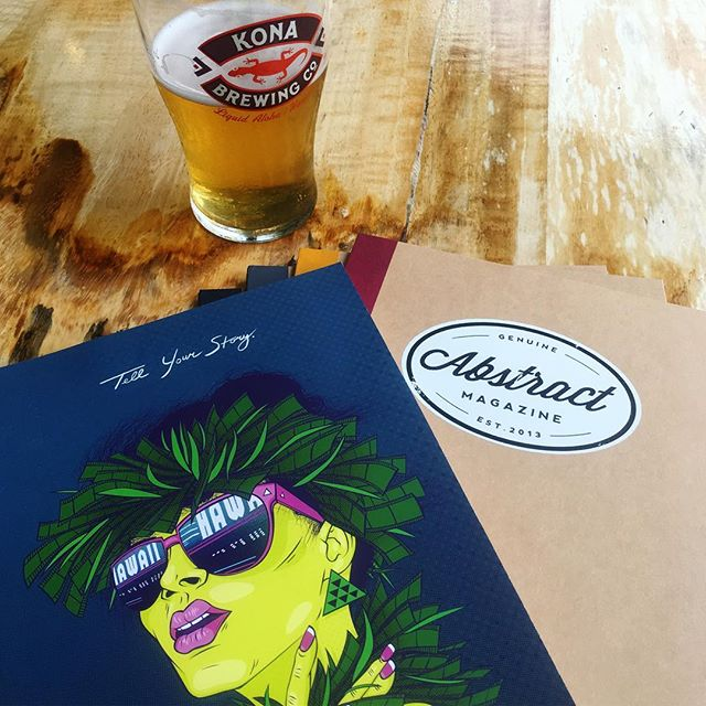 The Trifecta: great to be enjoying a Pau Hana beer @KonaBrewingKokoPub in Hawai'i Kai with the 'Ohina Short Film Showcase crew. Come join us from 6 to 9 pm tonight for a drink, to snag a special Abstract notebook, and chat with local @OhinaShortFilm filmmakers!