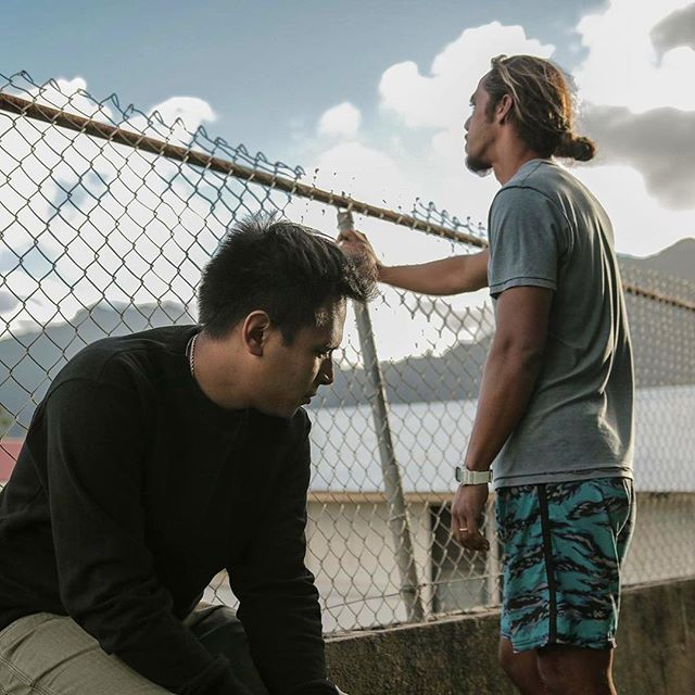 """For someone who sells weed for a living, think you would've learned how to roll by now."" Local filmmakers @Alika_Maikau and @Jonah.Okano share a story of windward O'ahu in 'Mauka to Makai,' a new short film that follows Akamu as he struggles to find balance in life, with the help of his cousin Kaipo, and his tight-knit #Kaneohe community. Set against the Ko'olaus and the shores of Kahalu'u, Akamu's life isn't as beautiful as his surroundings—but family values and a sense of place provide avenues to help him navigate and find his own way.  For more info about @MaukaToMakaiFilm, set to debut at this year's @OhinaShortFilm Showcase (or how you can donate to assist Alika and Jonah during postproduction), visit maukatomakaifilm.com/"