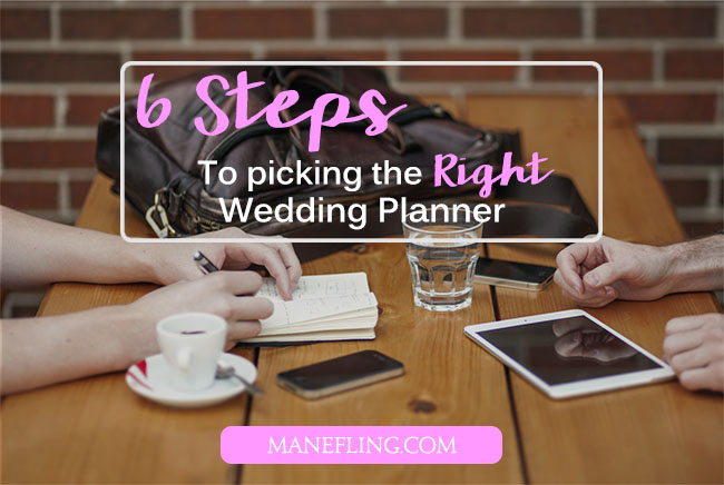 how to pick the right wedding planner