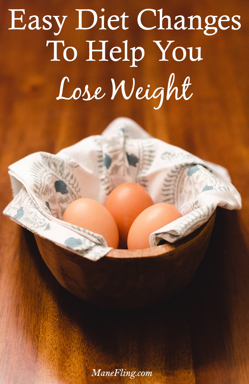 diet changes to help lose weight