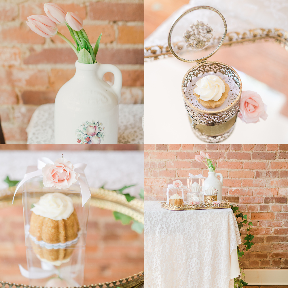 Sarah Bush Designs (Florals + Photography) // Vision Expressions //Petite Cakes USA