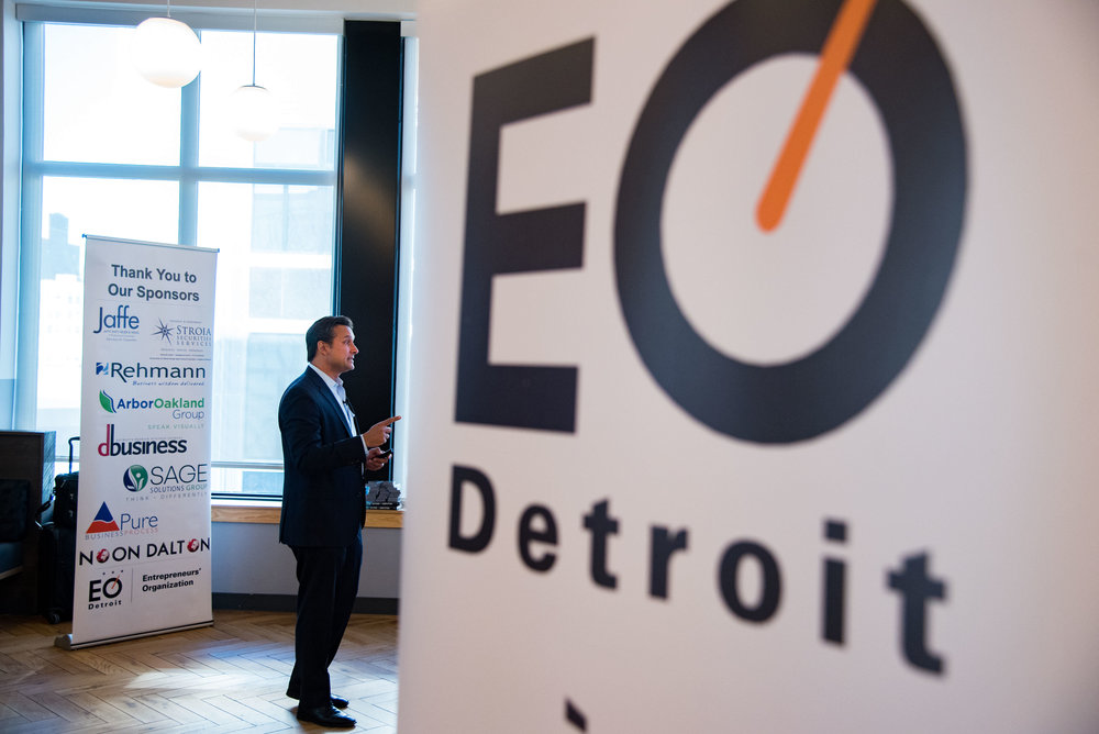 November 08, 2017 EO Detroit Event - Kaihan Krippendorff - Outlook the Competition, WeWork, Deroit, Mi