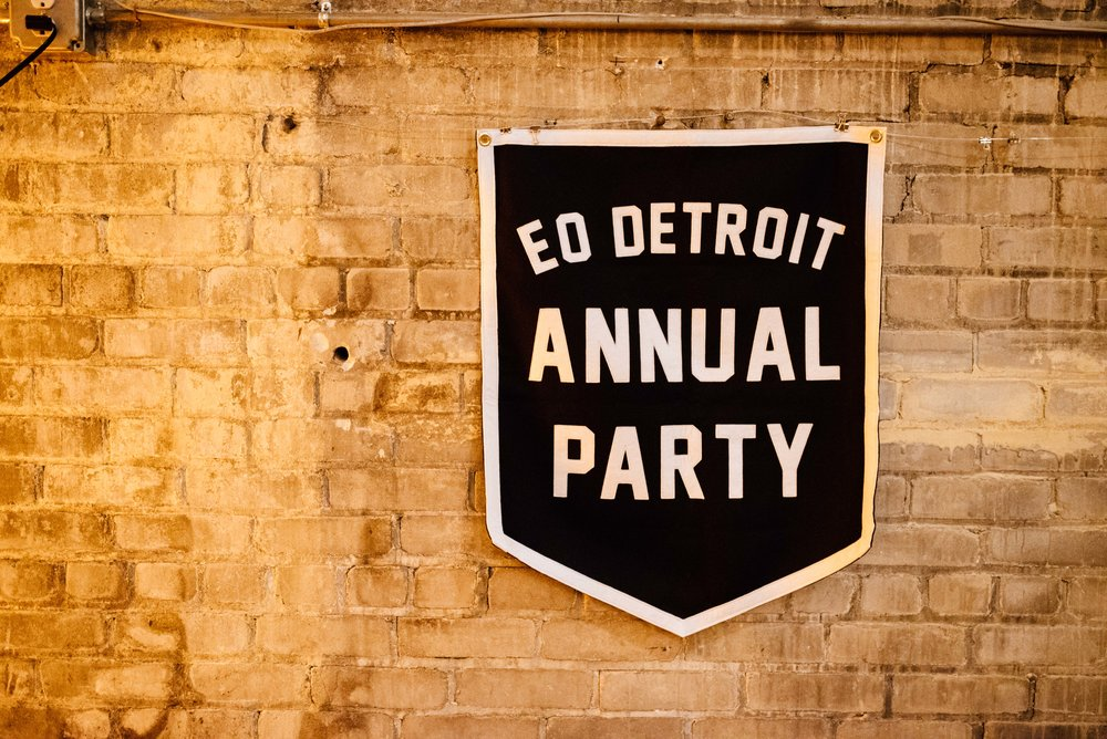 January 27, 2018 EO Detroit Annual Party, Jam Handy, Detroit, Mi