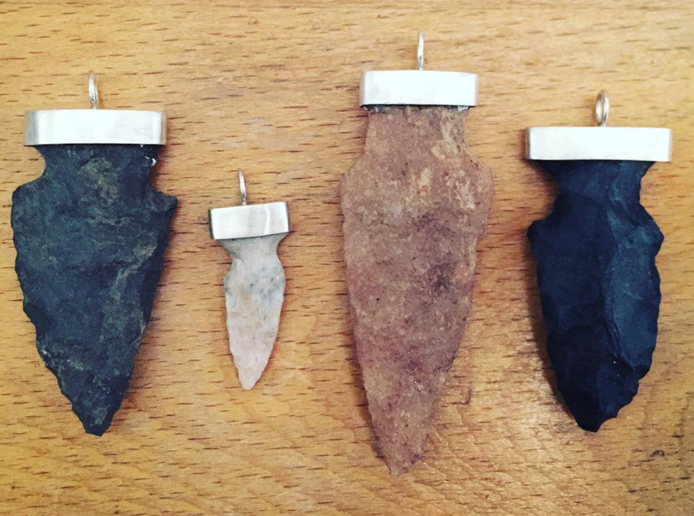 Custom made arrowheads