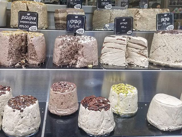 Have a halva ... i thought that was funny but in my soul i know it wasnt. To me, this makes my pun fail even funnier. #lifeinsidemyfunnyhead #israel #telaviv #yafo