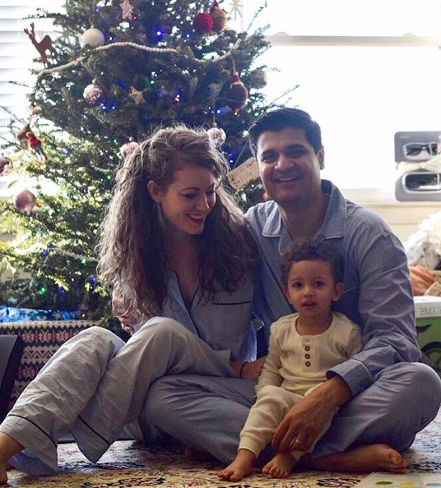 Who only took one photo as a family this Christmas? That would be us. Oh well. Christmas might just be one day, but pajamas last...significantly longer.
