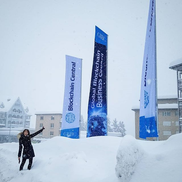 Getting ready to kick off an amazing week with the Global Blockchain Business Council in Davos during the Annual WEF meeting #BlockchainCentral #itsbeensnowinglikethisfor5days