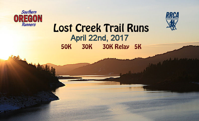LOST CREEK TRAIL RUNS - Southern Oregon Runners - What to do in SOuthern Oregon- Things to do  - RUnning Events