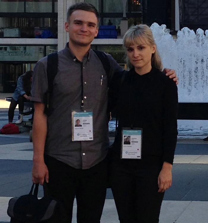 Julian and Aldona in 2014,