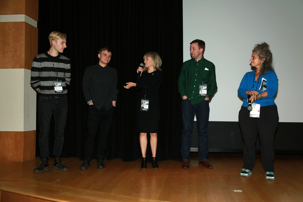 Q&A with director Aldona Watts, cinematographer/co-producer Julian Watts and cinematographer James Kennard after the U.S. Premiere of Land of Songs with The Margaret Mead Film Festival at the American Museum of Natural History in New York (October 2015).