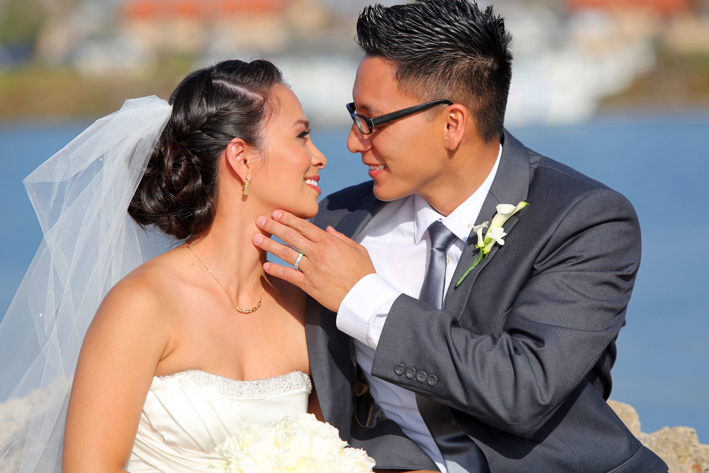 asian couple married