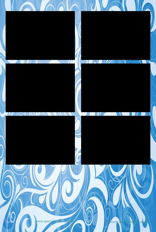 13. Blue Swirls