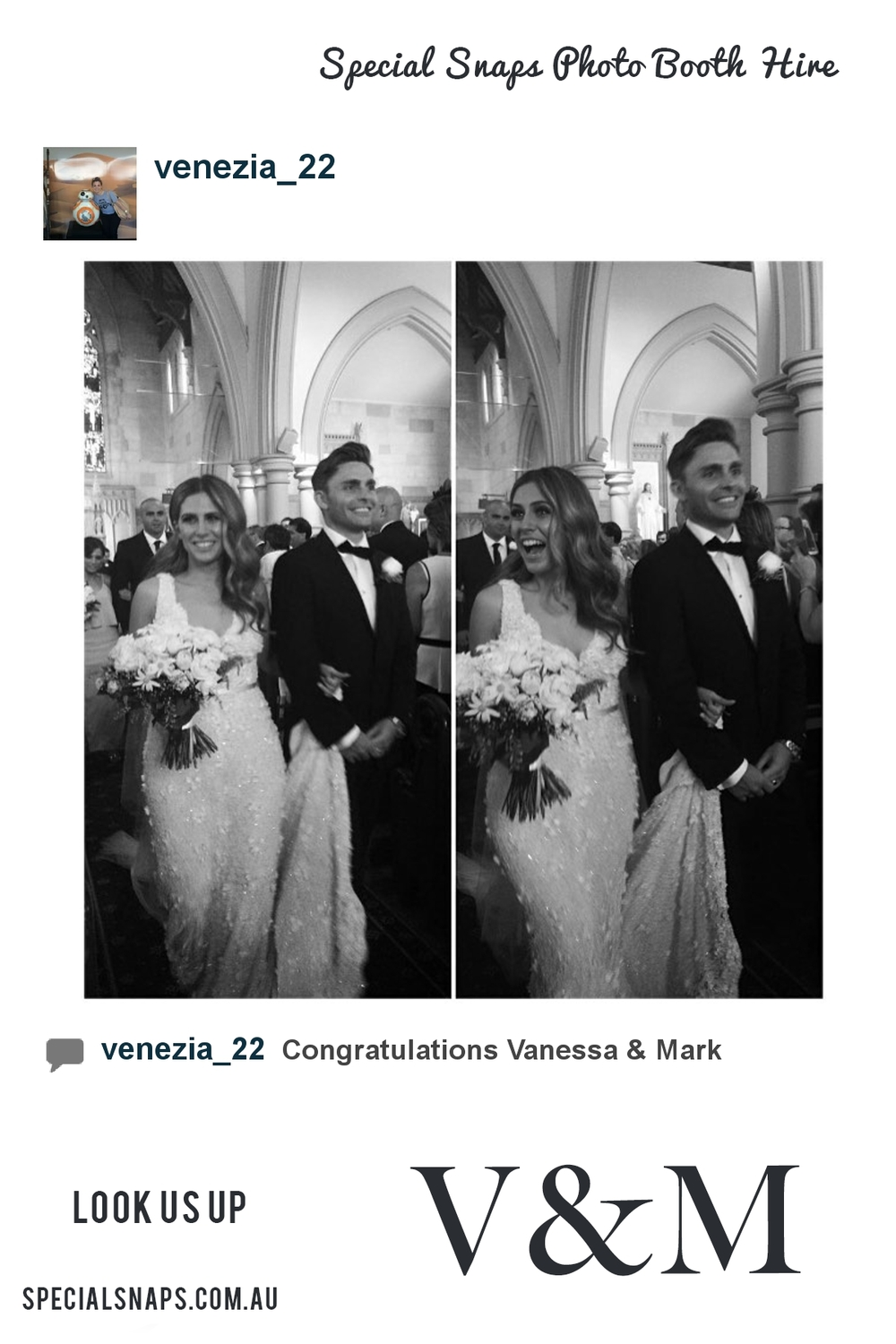 Wedding of Vanessa & Mark 13th February 2016