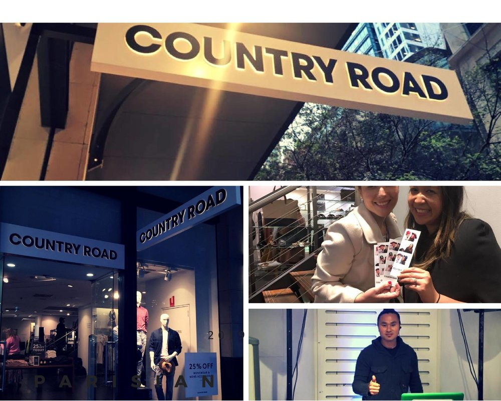Spring Fashion Week Country Road 1st September 2016