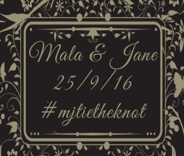 Wedding of Jane & Mala 25th September 2016