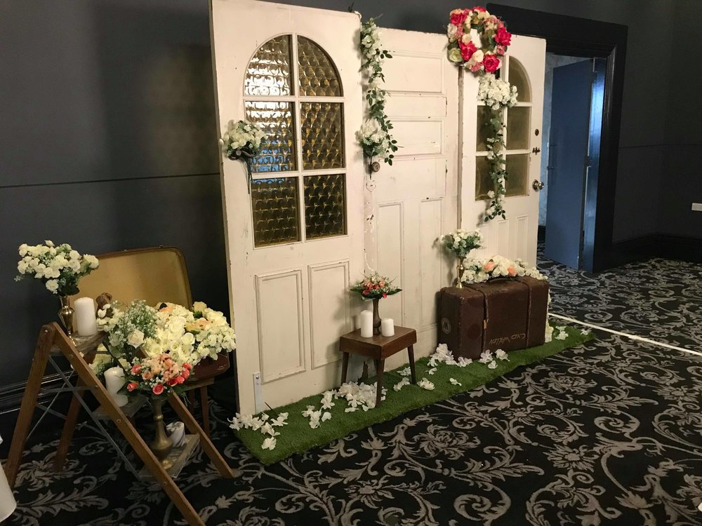 We Make Flower Walls To Match Your Vision & Wedding. Tell Us How You Envision Your Backdrop To Look And We Will Create It For You & Your Guests.