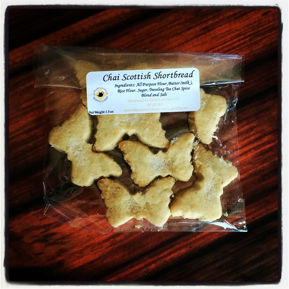 Traveling Tea - Queen's Pantry - Chai Scottish Shortbread