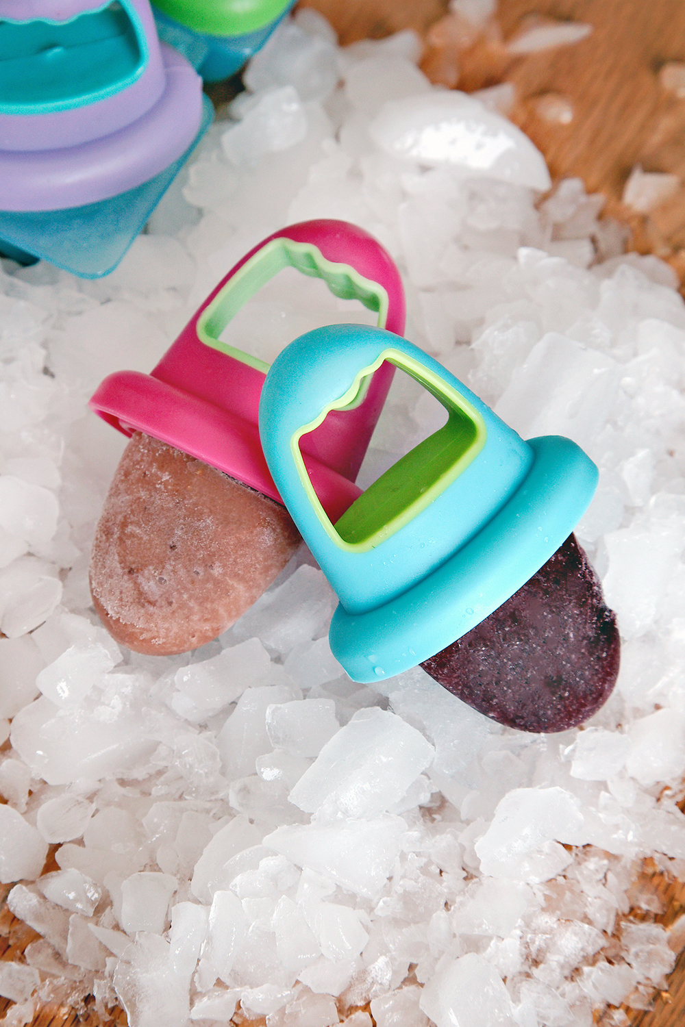Healthy Mini Popsicles Perfect for Teething Tots