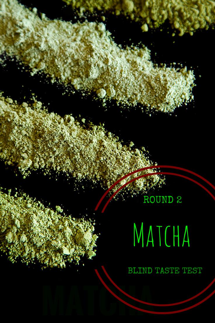 Matcha Blind Taste Test Round 2