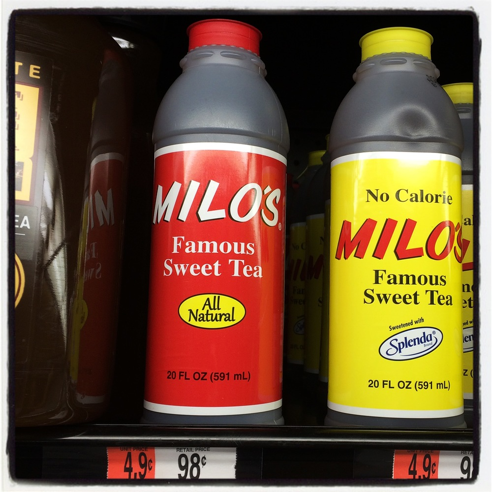 Tea Review: Milo's Famous Sweet Tea