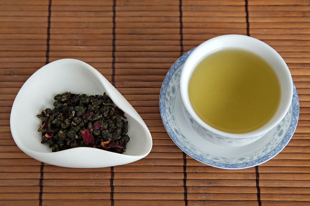 Tea Review: Rose Oolong - Tea Ave