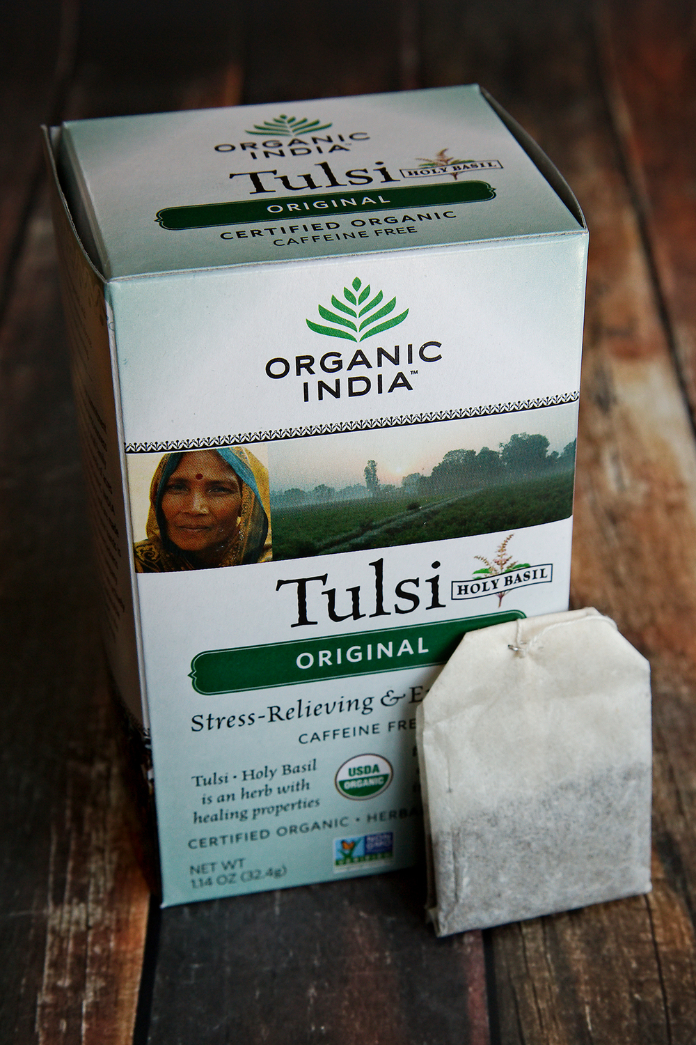 Tea Review: Organic Tulsi Tea - Organic India