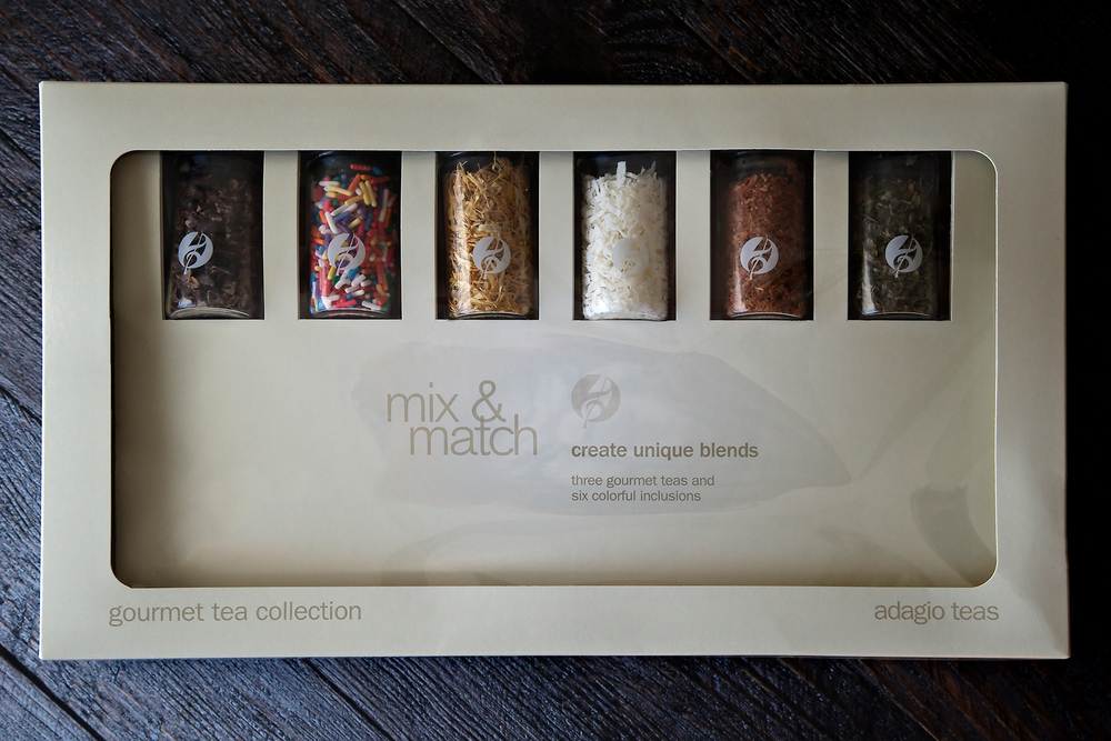 Tea Review: Mix & Match Gift Set - Adagio Teas