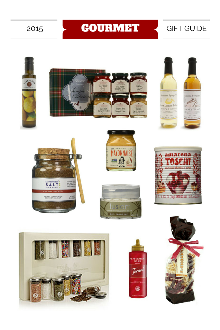 2015 Holiday Gift Guide - Gourmet Gifts