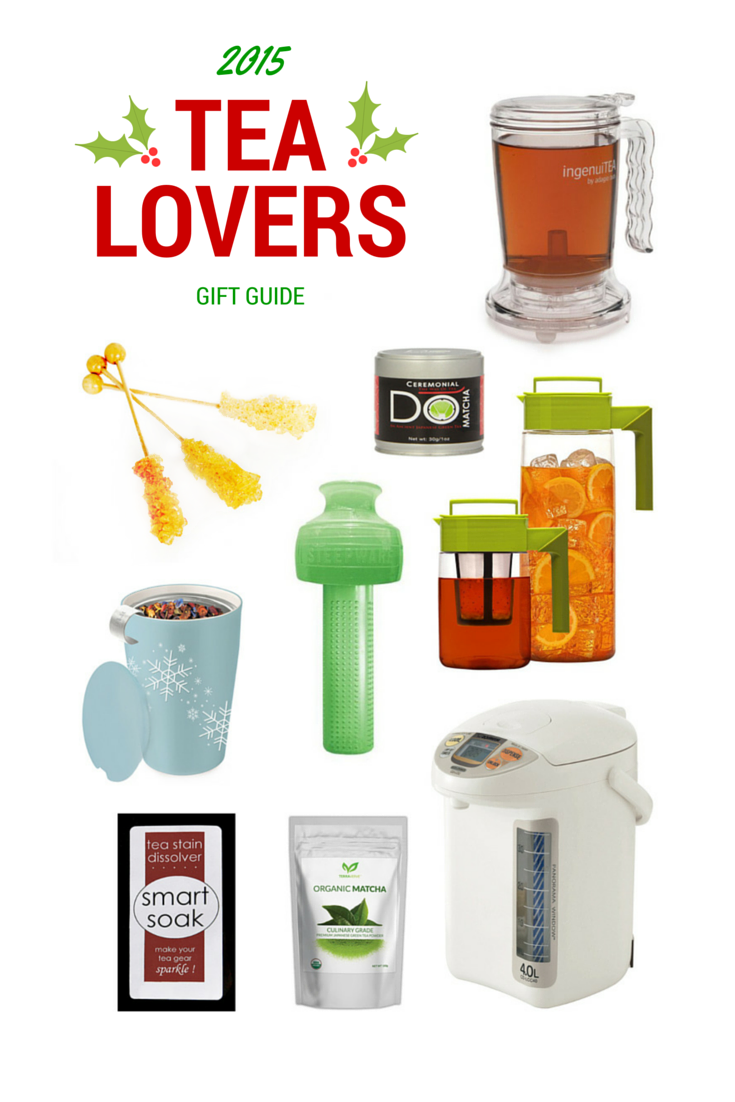 2015 Tea Lovers Gift Guide | Not Starving Yet