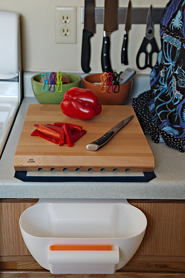 How to Keep Your Cutting Board From Slipping